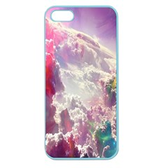Clouds Multicolor Fantasy Art Skies Apple Seamless iPhone 5 Case (Color)