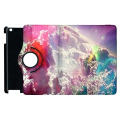 Clouds Multicolor Fantasy Art Skies Apple iPad 2 Flip 360 Case