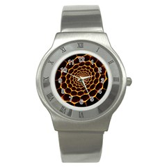 Honeycomb Art Stainless Steel Watch
