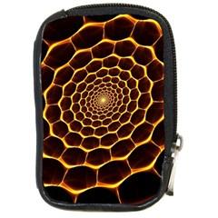 Honeycomb Art Compact Camera Cases