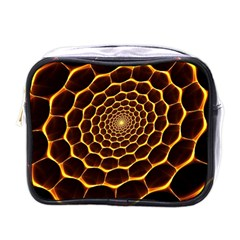 Honeycomb Art Mini Toiletries Bags