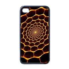 Honeycomb Art Apple iPhone 4 Case (Black)