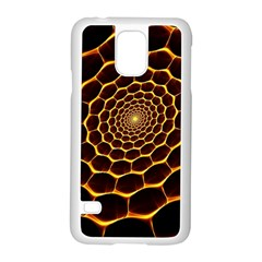 Honeycomb Art Samsung Galaxy S5 Case (White)