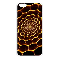 Honeycomb Art Apple Seamless iPhone 6 Plus/6S Plus Case (Transparent)