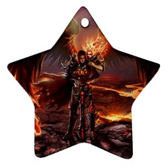 Fantasy Art Fire Heroes Heroes Of Might And Magic Heroes Of Might And Magic Vi Knights Magic Repost Ornament (Star)