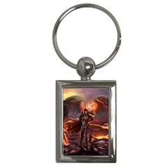 Fantasy Art Fire Heroes Heroes Of Might And Magic Heroes Of Might And Magic Vi Knights Magic Repost Key Chains (Rectangle)