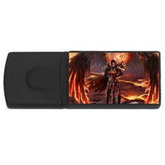 Fantasy Art Fire Heroes Heroes Of Might And Magic Heroes Of Might And Magic Vi Knights Magic Repost USB Flash Drive Rectangular (1 GB)