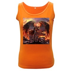 Fantasy Art Fire Heroes Heroes Of Might And Magic Heroes Of Might And Magic Vi Knights Magic Repost Women s Dark Tank Top