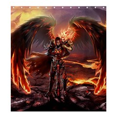 Fantasy Art Fire Heroes Heroes Of Might And Magic Heroes Of Might And Magic Vi Knights Magic Repost Shower Curtain 66  x 72  (Large)