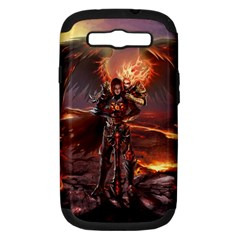 Fantasy Art Fire Heroes Heroes Of Might And Magic Heroes Of Might And Magic Vi Knights Magic Repost Samsung Galaxy S III Hardshell Case (PC+Silicone)