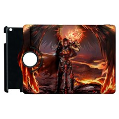 Fantasy Art Fire Heroes Heroes Of Might And Magic Heroes Of Might And Magic Vi Knights Magic Repost Apple iPad 2 Flip 360 Case