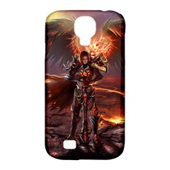 Fantasy Art Fire Heroes Heroes Of Might And Magic Heroes Of Might And Magic Vi Knights Magic Repost Samsung Galaxy S4 Classic Hardshell Case (PC+Silicone)