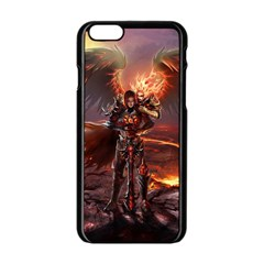 Fantasy Art Fire Heroes Heroes Of Might And Magic Heroes Of Might And Magic Vi Knights Magic Repost Apple iPhone 6/6S Black Enamel Case