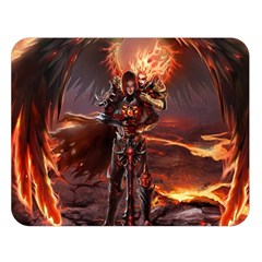 Fantasy Art Fire Heroes Heroes Of Might And Magic Heroes Of Might And Magic Vi Knights Magic Repost Double Sided Flano Blanket (Large)