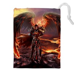 Fantasy Art Fire Heroes Heroes Of Might And Magic Heroes Of Might And Magic Vi Knights Magic Repost Drawstring Pouches (XXL)