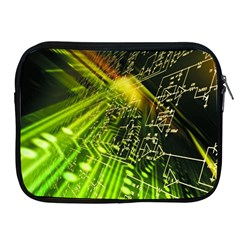 Electronics Machine Technology Circuit Electronic Computer Technics Detail Psychedelic Abstract Pattern Apple iPad 2/3/4 Zipper Cases