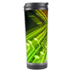 Electronics Machine Technology Circuit Electronic Computer Technics Detail Psychedelic Abstract Pattern Travel Tumbler