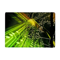 Electronics Machine Technology Circuit Electronic Computer Technics Detail Psychedelic Abstract Pattern iPad Mini 2 Flip Cases