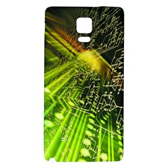 Electronics Machine Technology Circuit Electronic Computer Technics Detail Psychedelic Abstract Pattern Galaxy Note 4 Back Case