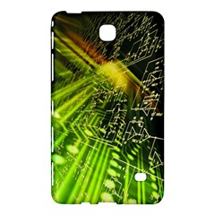 Electronics Machine Technology Circuit Electronic Computer Technics Detail Psychedelic Abstract Pattern Samsung Galaxy Tab 4 (8 ) Hardshell Case