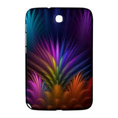 Colored Rays Symmetry Feather Art Samsung Galaxy Note 8.0 N5100 Hardshell Case