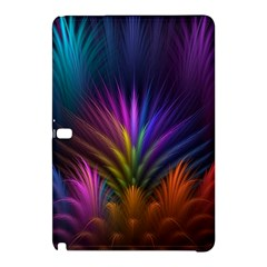 Colored Rays Symmetry Feather Art Samsung Galaxy Tab Pro 10.1 Hardshell Case