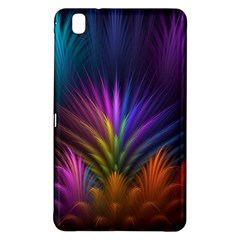 Colored Rays Symmetry Feather Art Samsung Galaxy Tab Pro 8.4 Hardshell Case
