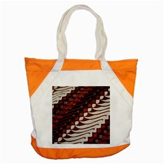 Traditional Batik Sarong Accent Tote Bag