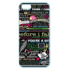 Book Collage For Before I Fall Apple Seamless iPhone 5 Case (Color)