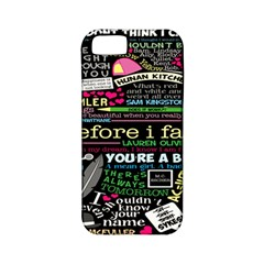 Book Collage For Before I Fall Apple iPhone 5 Classic Hardshell Case (PC+Silicone)