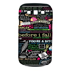Book Collage For Before I Fall Samsung Galaxy S III Classic Hardshell Case (PC+Silicone)