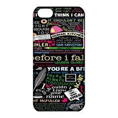 Book Collage For Before I Fall Apple iPhone 5C Hardshell Case