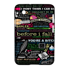 Book Collage For Before I Fall Samsung Galaxy Tab 2 (7 ) P3100 Hardshell Case