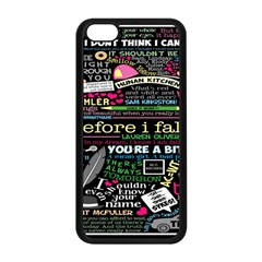 Book Collage For Before I Fall Apple iPhone 5C Seamless Case (Black)