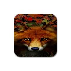Fox Rubber Coaster (Square)