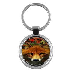 Fox Key Chains (Round)