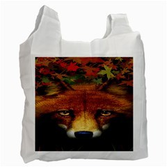 Fox Recycle Bag (Two Side)