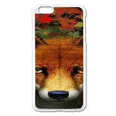 Fox Apple iPhone 6 Plus/6S Plus Enamel White Case