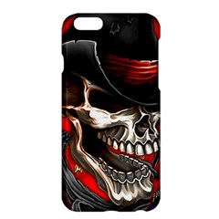 Confederate Flag Usa America United States Csa Civil War Rebel Dixie Military Poster Skull Apple iPhone 6 Plus/6S Plus Hardshell Case