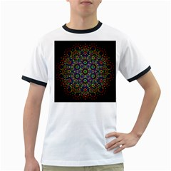 The Flower Of Life Ringer T-Shirts