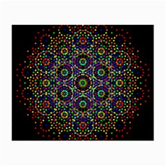 The Flower Of Life Small Glasses Cloth