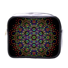 The Flower Of Life Mini Toiletries Bags