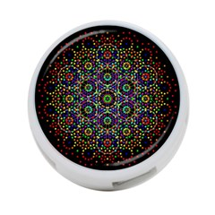 The Flower Of Life 4-Port USB Hub (Two Sides)