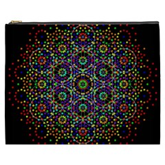 The Flower Of Life Cosmetic Bag (XXXL)