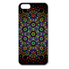 The Flower Of Life Apple Seamless iPhone 5 Case (Clear)