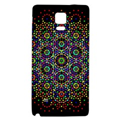 The Flower Of Life Galaxy Note 4 Back Case