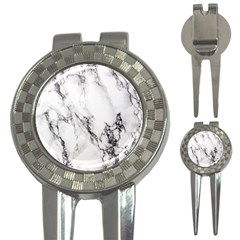 Marble Pattern 3-in-1 Golf Divots