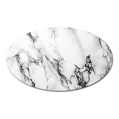 Marble Pattern Oval Magnet
