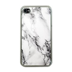 Marble Pattern Apple iPhone 4 Case (Clear)