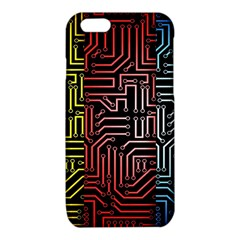 Circuit Board Seamless Patterns Set iPhone 6/6S TPU Case